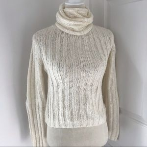 Sweaters - Off White Turtleneck Sweater